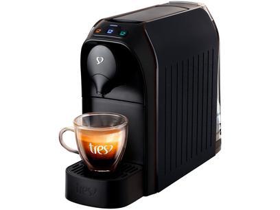 Cafeteira Espresso TRES 3 Corações Passione - 15 Bar Preto