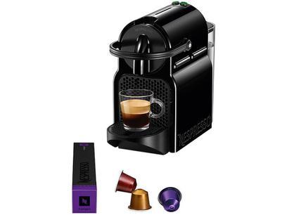 Cafeteira Espresso Nespresso Inissia D40 19 Bar - Preta