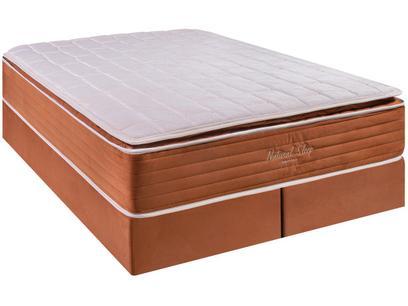 Cama Box Queen (Box + Colchão) Kappesberg - Mola Ensacada 69cm de Altura Natural Sleep