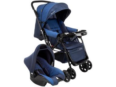 Carrinho de Bebê com Bebê Conforto Cosco - 0 a...