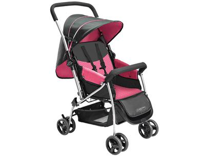 Carrinho de Bebê Multikids Flip - 0 a 15kg Rosa