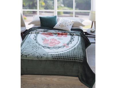 Cobertor Casal Microfibra Dyuri Belo Jardin - 1 Peça