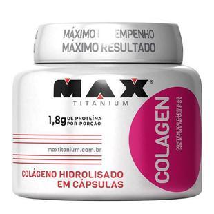 Colagen Hidrolisado 100 Capsulas Max Titanium