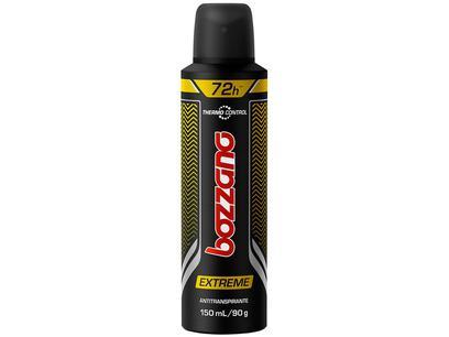 Desodorante Bozzano Thermo Control Extreme - Aerossol Antitranspirante Masculino 90g