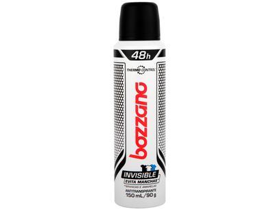 Desodorante Bozzano Thermo Control Invisible - Aerossol Antitranspirante Masculino 90g