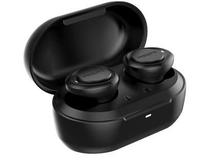 Fone de Ouvido Bluetooth Philips TAT1215BK/97 - Intra-auricular com Microfone Preto