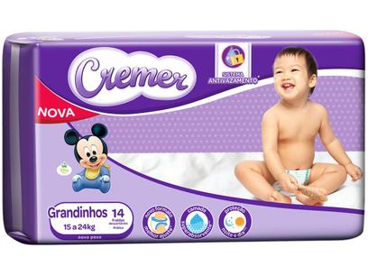 Fralda Cremer Disney Baby Tam. Grandinho - 15 a 24kg...