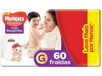 Fralda Huggies Turma da Mônica Supreme Care - Roupinha Tam....
