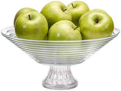 Fruteira de Mesa de Vidro Ruvolo Redonda Goumert - 10042100016