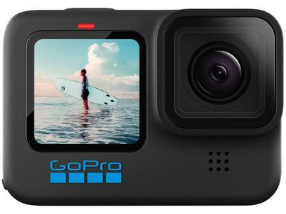 "GoPro Hero 10 Black 23MP 5,3K Wi-Fi Bluetooth - 2,27"" à Prova de Água"