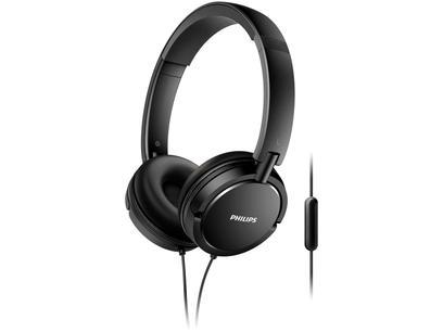 Headphone Philips Upbeat SHL5005/00 - com Microfone Preto