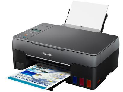 Impressora Multifuncional Canon Mega Tank G3160 - Tanque de Tinta Colorida Wi-Fi