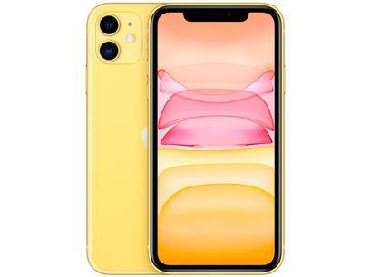 "iPhone 11 Apple 256GB Amarelo 6,1"" 12MP iOS"