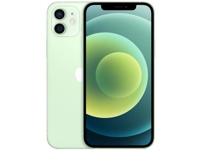 "iPhone 12 Apple 128GB Verde Tela 6,1"" - Câm. Dupla 12MP iOS"