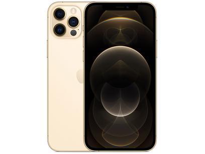 "iPhone 12 Pro Apple 128GB Dourado 6,1"" - Câm. Tripla 12MP iOS"