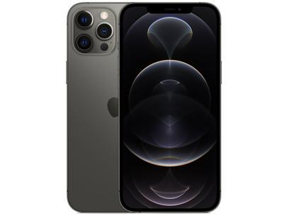"iPhone 12 Pro Max Apple 512GB Grafite 6,7"" - Câm. Tripla 12MP iOS"