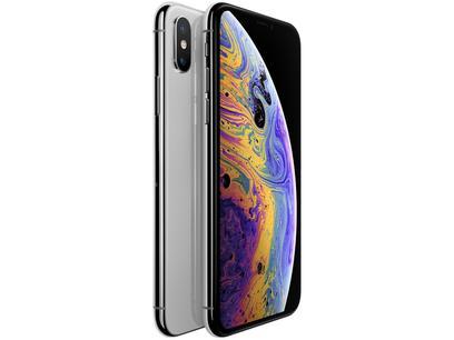 "iPhone XS Apple 64GB Prateado 5,8"" 12MP - iOS"