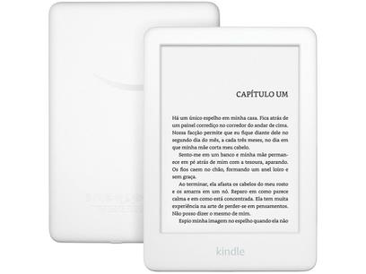 """Kindle 10ª Geração Tela 6"""" 8GB Wi-Fi Luz Embutida - Branco"""
