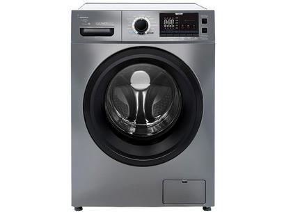 Lavadora de Roupas Midea Storm Wash Inverter - Smart 11kg Cesto Inox 16 Programas de Lavagem