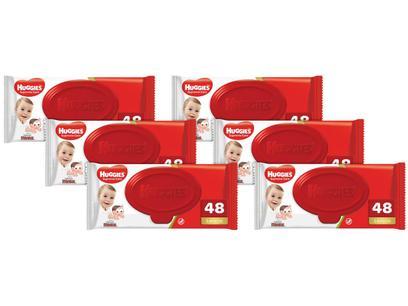Lenços Umedecidos Huggies Supreme Care - 48 Unidades Cada 6...