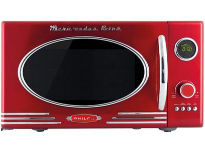 Micro-ondas Philco 26L Retrô - PMR26V Vermelho