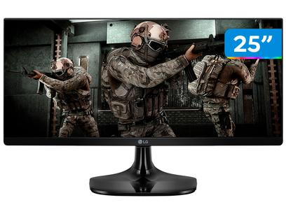 """Monitor Gamer LG 25UM58G 25"""" LED IPS - Full HD HDMI 75Hz 1ms"""