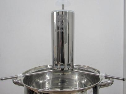 Nhoqueira inox Peekler (dispositivo modelador de massa para nhoque , bolinhos, e doces)