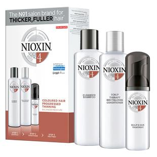 Nioxin Trial Kit Sistema 4 - Shampoo + Condicionador + Leave-in
