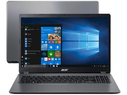 "Notebook Acer Aspire 3 A315-54K-37LZ Intel Core i3 - 4GB 256GB SSD 15,6"" Windows 10"