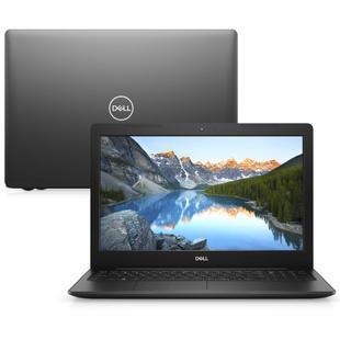 "Notebook Dell Inspiron 3583-U05P Intel Pentium Gold 4GB 500GB 15.6"" Linux Preto"