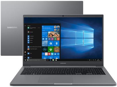 "Notebook Samsung Book NP550XDA-KF2BR Intel Core i5 - 8GB 256GB SSD 15,6"" Full HD Windows 10"