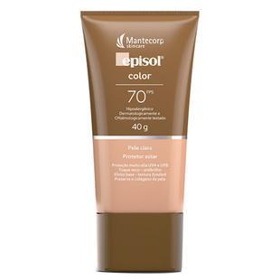 Protetor Solar Facial Episol Color Fps 70 - Mantecorp Skincare