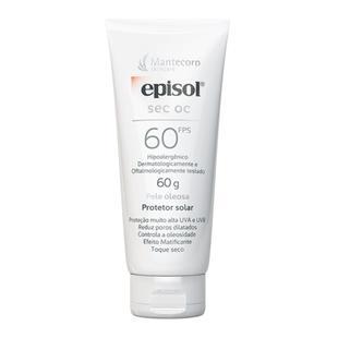 Protetor Solar Facial Episol SEC OC FPS 60
