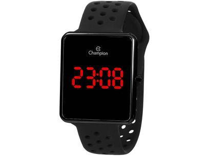 Relógio Unissex Champion Digital - CH40081D Preto
