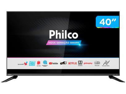 "Smart TV DLED 40"" Philco PTV40G60SNBL - Wi-Fi 3 HDMI 2 USB"