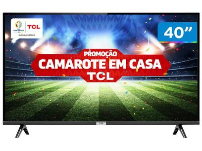 """Smart TV LED 40"""" TCL 40S6500 Full HD Android - Wi-Fi HDR Inteligência Artificial 2 HDMI USB"""