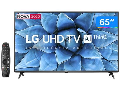 "Smart TV UHD 4K LED IPS 65"" LG 65UN7310PSC Wi-Fi - Bluetooth HDR Inteligência Artificial 3 HDMI 2 USB"