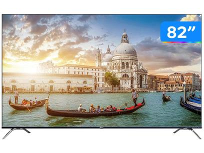 "Smart TV UHD E-LED 82"" Philco PTV82K90AGIB - Android Wi-Fi Bluetooth HDR 4 HDMI 2 USB"