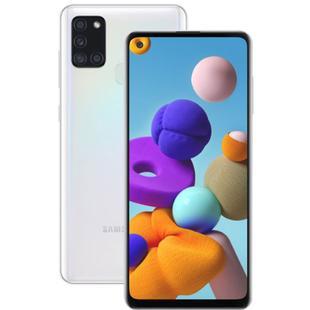 "Smartphone Samsung Galaxy A21s 64GB 6,5"" Câmera Quádrupla 48MP 8MP 2MP 2MP Frontal 13MP Branco"