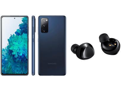 Smartphone Samsung Galaxy S20 FE 128GB Cloud Navy - 6GB RAM + Fone de Ouvido Bluetooth Galaxy Buds+