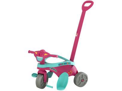 Triciclo Infantil Mototico com Empurrador - Bandeirante