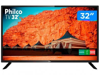 """TV D-LED 32"""" Philco PTV32F10D 2 HDMI 1 USB"""