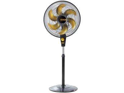 Ventilador de Coluna Mallory Delfos preto gold TS+ 40cm - 3 Velocidades