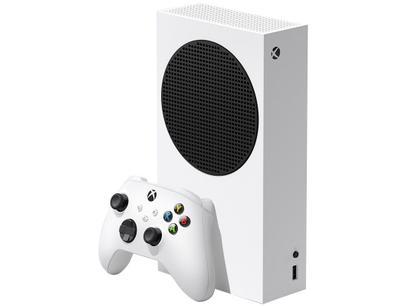 Xbox Series S 2020 Nova Geração 512GB SSD - 1 Controle Branco Microsoft Lançamento