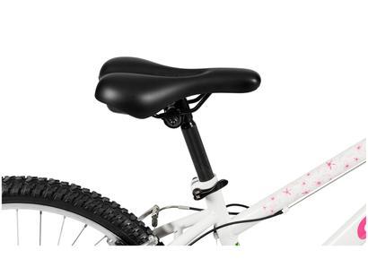 Bicicleta Infantil Aro 24 21 Marchas Caloi Ceci - Branca Freio V-Brake  77f970866742a