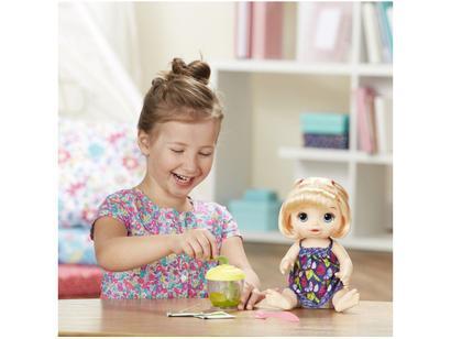 16cfb0ab35 Boneca Baby Alive Papinha Divertida com Acessórios - Hasbro ...