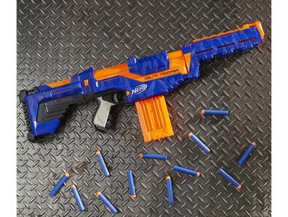 1747ddb4f9 Nerf Delta Trooper Hasbro - 12 Dardos