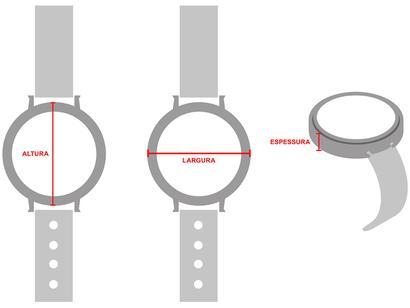 9f0a8ce676b Relógio Feminino Ana Hickmann Analógico - AH 28115 Q