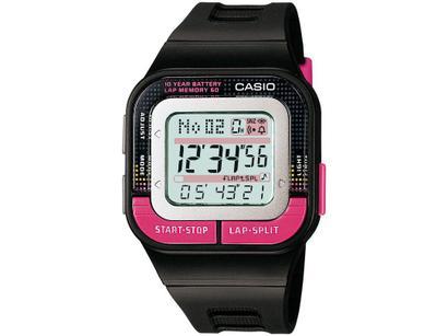 aaf05de2343 Relógio Feminino Casio Digital - Resistente à Água SDB-100-1BDF ...