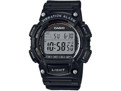 78c6eb07829 Relógio Masculino Casio Digital - Resistente à Água W-736H-1AVDF ...